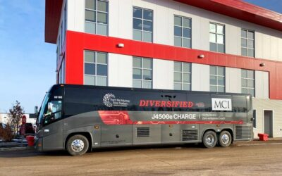 100% Electric Zero-emissions Motor Coach Arrives in Fort McMurray