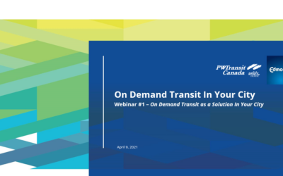 On Demand Transit as a Solution for your City – Webinar #1