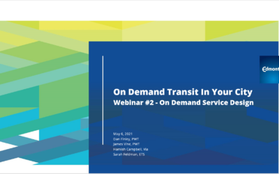 On-Demand Transit in your City: Service Design and Operations