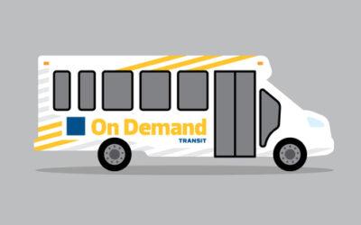 BUS NETWORK REDESIGN & ON-DEMAND TRANSIT UPDATE